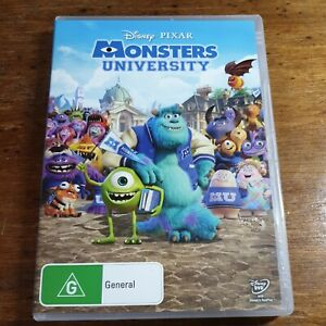 Monsters University Disney Pixar DVD R4 Like New! FREE POST