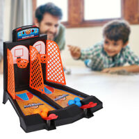 Mini Desktop Basketball Game Rack Table Finger Ejection Shooting Machine