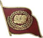 DDR B.4371b SED 40 Jahre Mitgliedschaft Marx-Engels-Lenin