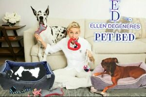 Ellen Degeneres Cuddler Dog / Cat Pet Bed, Mat, Pad, Cushion. 2 Sizes, 2 colors