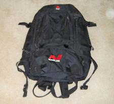 Minelab X-Terra Amaro Backpack Storage Carrying Bag
