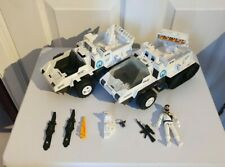 GI Joe Cobra Action Force Cobra Snowcat and Frostbite 1985 and parts lot