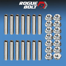 BBC VALVE COVER STUDS BOLTS STAINLESS KIT BIG BLOCK CHEVY 396 402 427 454 502 GM