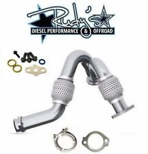 MBRP 6.0L Ford Powerstroke Turbo Up Y-pipe / Clamp / Gasket /Turbo Hardware Kit