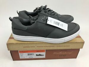 New Men's WEATHERPROOF Vintage ETHAN Grey Leather Lace Pick Size