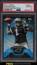 2011 Topps Rookie Refractor Cam Newton ROOKIE RC #TMB-1 PSA 10 GEM MINT