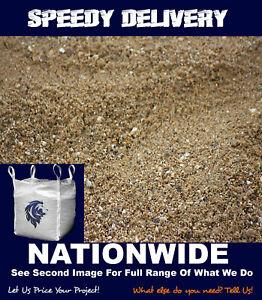 Sharp / Grit Sand Bulk Bag - DELIVERY (Patios/Block paving) (800kg minimum)