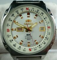 ORIENT SK Crystal Star King KD Automatic Vintage 21 jewels Japan Men Wrist Watch