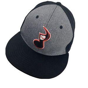 Nashville Sounds Minor League Ball Cap Hat Fitted M/L Baseball
