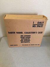 Star Wars Vintage Darth Vader Collector's Case Brown Shipping Mailer Box RARE