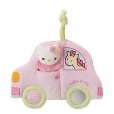 HELLO KITTY - Soft Plush Car Activity Toy - for Babies and Toddlers - New