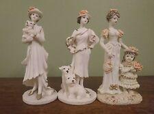 Elegant Shudehill Lady's Figurine Porcelain set Gift ware pastel