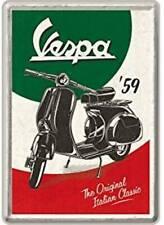 Vespa 59  embossed metal sign 20cm x 30cm
