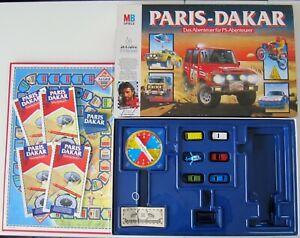 ABSOLUTER TOP ZUSTAND: PARIS - DAKAR! DAS Abenteuerspiel!! 100% VOLLSTÄNDIG!