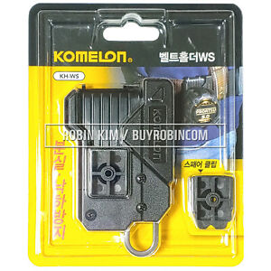 NEW KOMELON QUICK DRAW WS Universal Tape Measure Holster Belt Holder Spare Clip