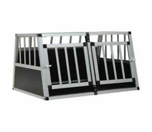 vidaXL Dog Cage with Double Door 89x69x50 cm