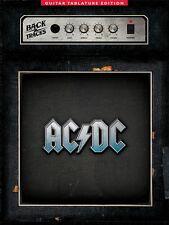 AC DC Backtracks Sheet Music Guitar Tablature Book NEW 014037551