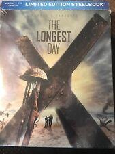 The Longest Day (BLU-RAY + DVD  STEELBOOK) NEW