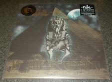 NILE-IN THE BEGINNING-ATONEMENT/RAMSES-2017 LP DIEHARD CLEAR VINYL-100 ONLY-NEW