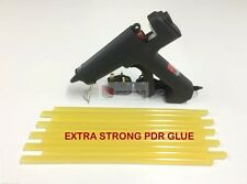 PRO PDR GLUE GUN inc 10 EXTRA STRONG GLUE STICKS - DENT TOOLS - PDR TOOLS