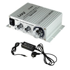LP 2020A Tripath Class D HIFI Steoro Audio Amplifier 20x2W AMP with Power Supply