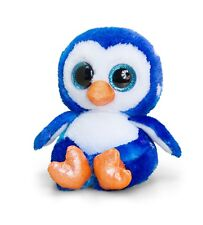 Keel Toys Animotsu 15cm Penguin Beanie Cuddly Soft Toy Plush SF1635