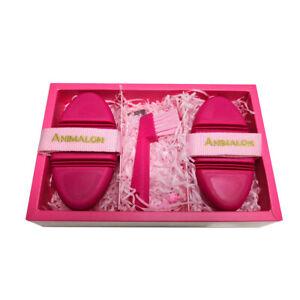 Animalon Kids Brush Set Fellpflegeset Bürsten Set Pfelegebürsten pink