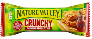 Nature Valley Crunchy Canadian Maple Syrup 36 x 42g Best Before 30/11/21