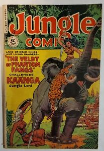 Fiction House - Issue #122 of Jungle Comics - Detached Cover/Incomplete
