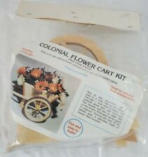 Colonial Flower Cart Kit - New Old Stock - Vintage