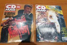 JOHNNY HALLYDAY revue cd mag + cd tendres annees neuf emballé spécial hallyday