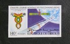 TIMBRES THEME COSMOS SPATIAL : 1981 DJIBOUTI YVERT N° 530 Série Non dentelé TBE