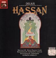 Delius(Vinyl LP Gatefold)Hassan Vernon Handley-HMV-ASD 3777-UK-1979-VG/Ex