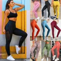 Women Seamless Leggings Yoga Pants High Waist Push Up Sport Fitness Gym Trousers
