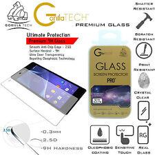 100% Real Gorilla Premium Tempered Glass Screen Guard Film For Sony Xperia M4
