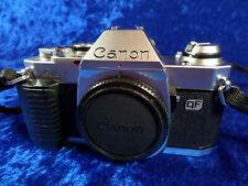 Canon AL-1 qf Spiegelreflex Kamera. Funktionsfähing neue Dichtungen. Siehe Text.