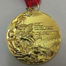 1984 Olympic Los Angeles 'Gold' Medal with Ribbons & Display Stands !!!