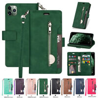 F iPhone 11 Xs Max Xr 8 7 6 Plus Flip Leather Phone Case Cover Card Wallet Stand