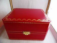 original cartier watch box/ scatola originale porta orologi cartier 15 x 12,5 x