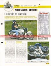 MOTO GUZZI 750 V7 Special 1971 Joe Bar Team Fiche Moto #005370
