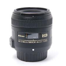 Nikon AF-S DX Micro NIKKOR 40mm F/2.8G #172