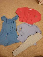 Girls Clothes Bundle Age 4-5 & 5-6 Next Tu Primark Leggings Top Playsuit...