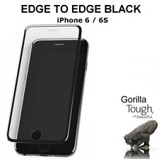 Tempered Genuine Glass Screen Protector Edge to Edge Black for Apple iPhone 7