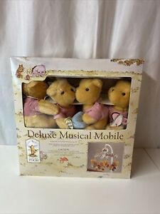 Classic Winnie The Pooh Disney Deluxe Musical Mobile Red Calliope 2002 Music