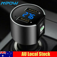 Wireless Bluetooth FM Transmitter Car Kit Radio Adapter Music Player USB Charger