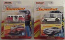 Matchbox 50th Anniversary Superfast 2019 New Releases Lot Of 2,   #3-#6
