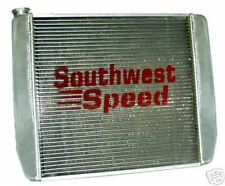 "NEW GRIFFIN RACING RADIATOR,CHEVY, 19"" TALL, 5 WIDTHS"