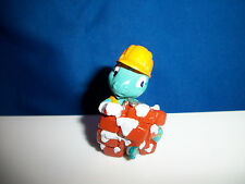 DINO CONSTRUCTION Worker SLOPPY MESSY BRICK LAYER Cartoon DINOSAUR Figure Kinder