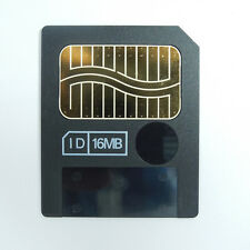 16Mb SmartMedia Sm Memory Card Genuine Made in Japan For Olympus Fuji Camera