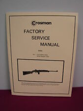 Crosman M-1 Carbine SERVICE MANUAL **with added pages!